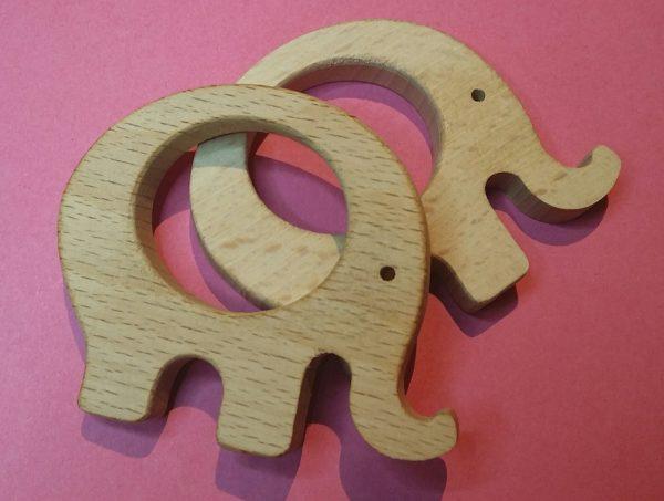 Houten bijtringen olifant zelf maken