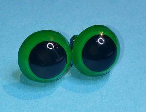 veiligheidsoogjes 15 mm groen haken en breien amigurumi knuffels