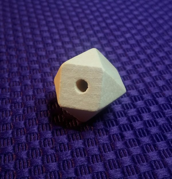 houten kralen 20 mm geometrisch