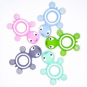 Siliconen bijtringen schildpad