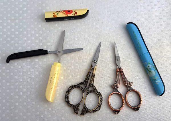 Assortiment borduurschaartjes haken breien quilten naaien borduurschaar schaar