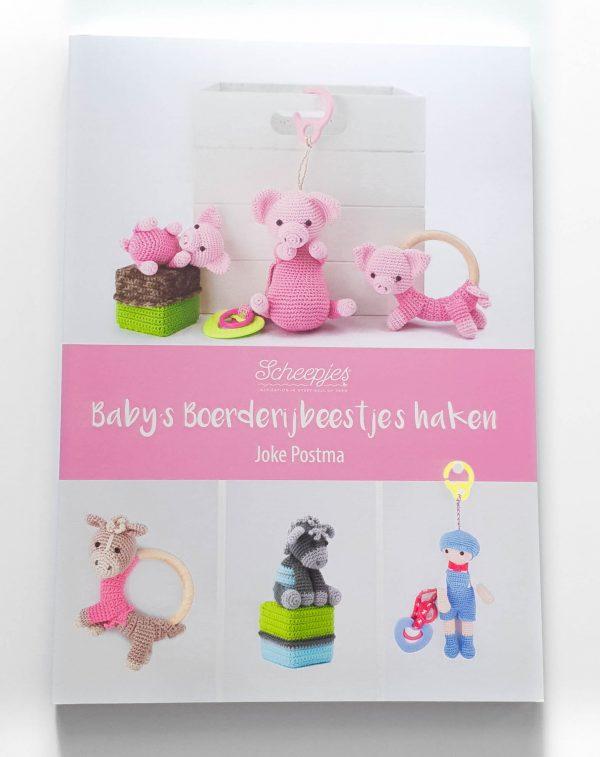 Baby's Boerderijbeestjes haken Joke Postma Voorkant