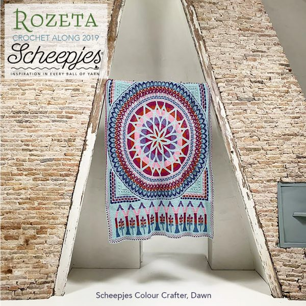 Scheepjes Rozeta CAL - Colour Crafter Kit Dawn