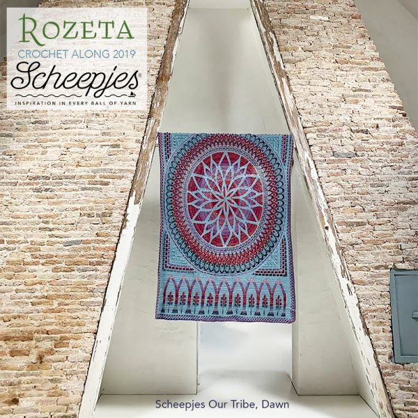 Scheepjes Rozeta CAL - Luxury Pack Our Tribe Dawn