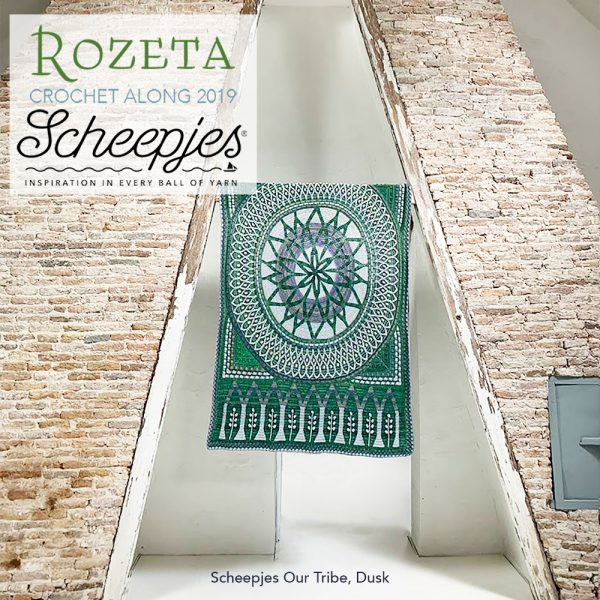 Scheepjes Rozeta CAL - Luxury Pack Our Tribe Dusk