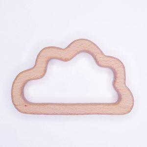 Houten bijtring Houten ring wolk