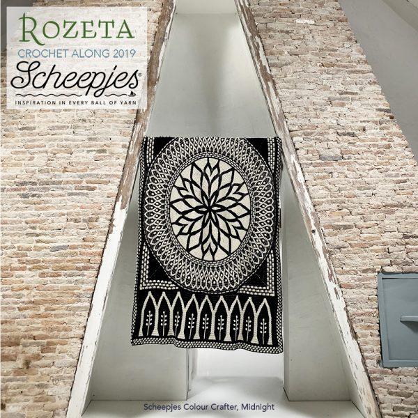 Scheepjes Rozeta CAL - Colour Crafter Kit Midnight