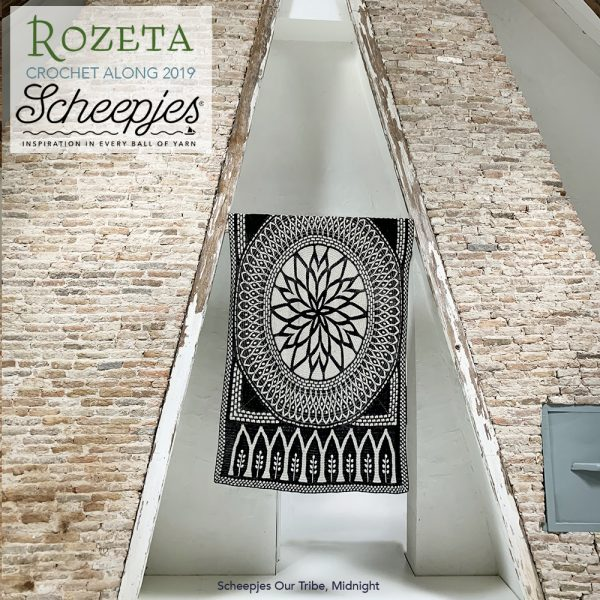 Scheepjes Rozeta CAL - Luxury Pack Our Tribe Midnight