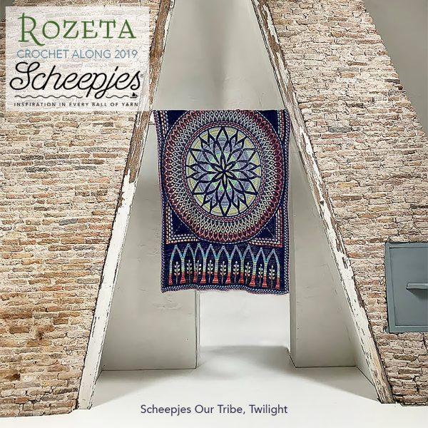 Scheepjes Rozeta CAL - Luxury Pack Our Tribe Twilight