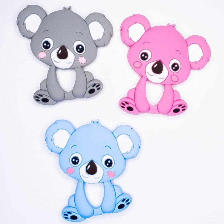 Siliconen bijtringen koala's