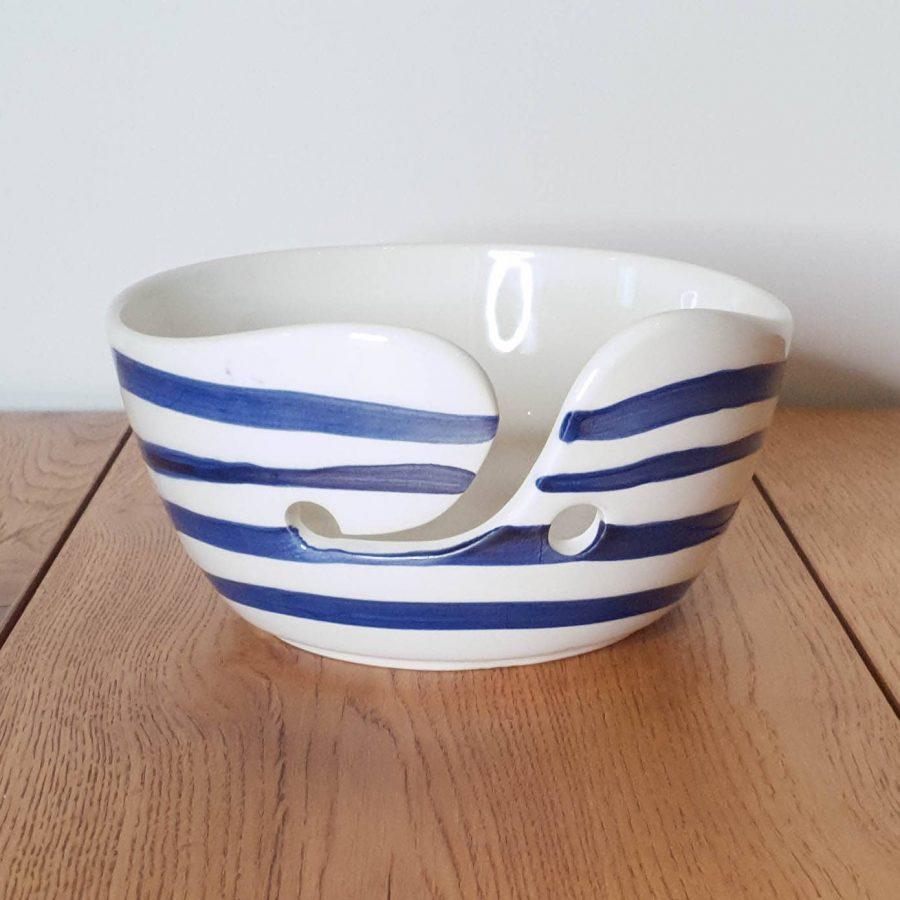 Yarn Bowl Delfts Blauw Horizontale streep