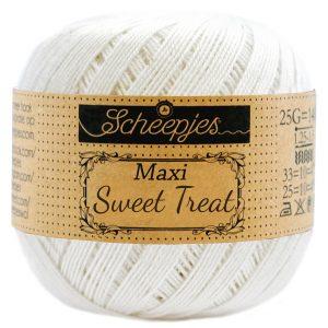 Scheepjes Maxi Sweet Treat - Bridal white - 105 - 25 gram
