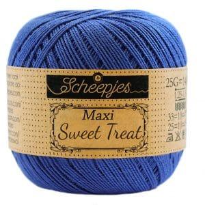 Scheepjes Maxi Sweet Treat - Electric Blue - 201 - 25 gram