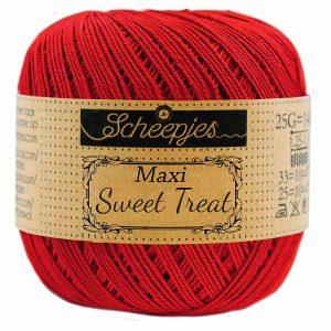 Scheepjes Maxi Sweet Treat - Red - 722 - 25 gram