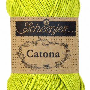 Scheepjes Catona Green Yellow 245