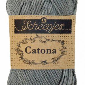 Scheepjes Catona - 50 gram - Metal Grey - 242