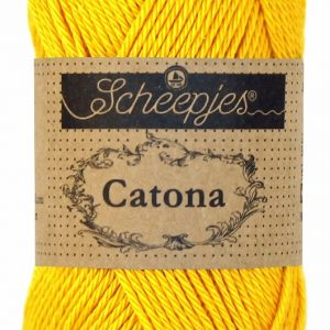 Scheepjes-Catona-Yellow-Gold-208-50-gram