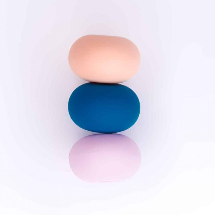 Siliconen kralen - Abacus - 23 mm