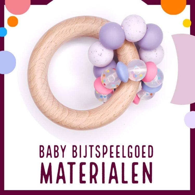 Baby bijtspeelgoed maken - Speenkoord & bijtring materialen
