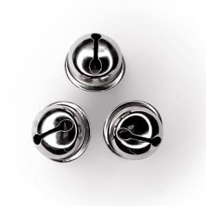 Bel bijtspeelgoed maken zilver 21 mm