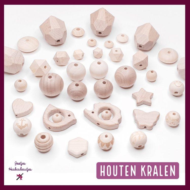 Houten kralen