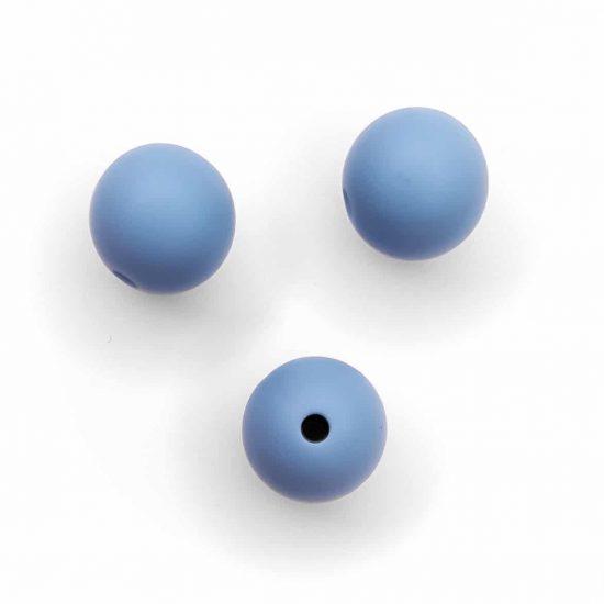 Siliconen kralen 12 mm bpa vrij baby veilig speenkoord poeder blauw (2)
