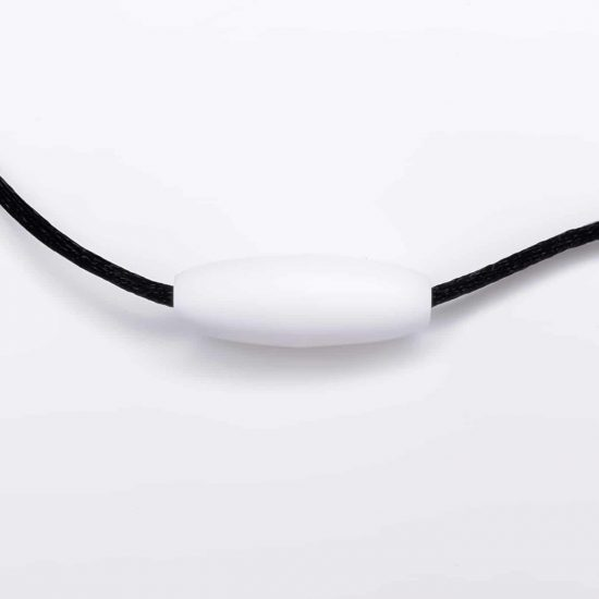 Kliksluiting wit borstvoedingsketting armband
