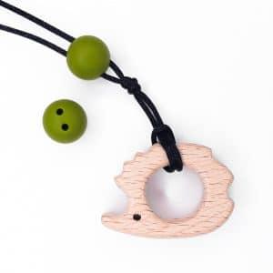 Siliconen veiligheidskraal 16 mm lime groen speenkoord baby bpa vrij