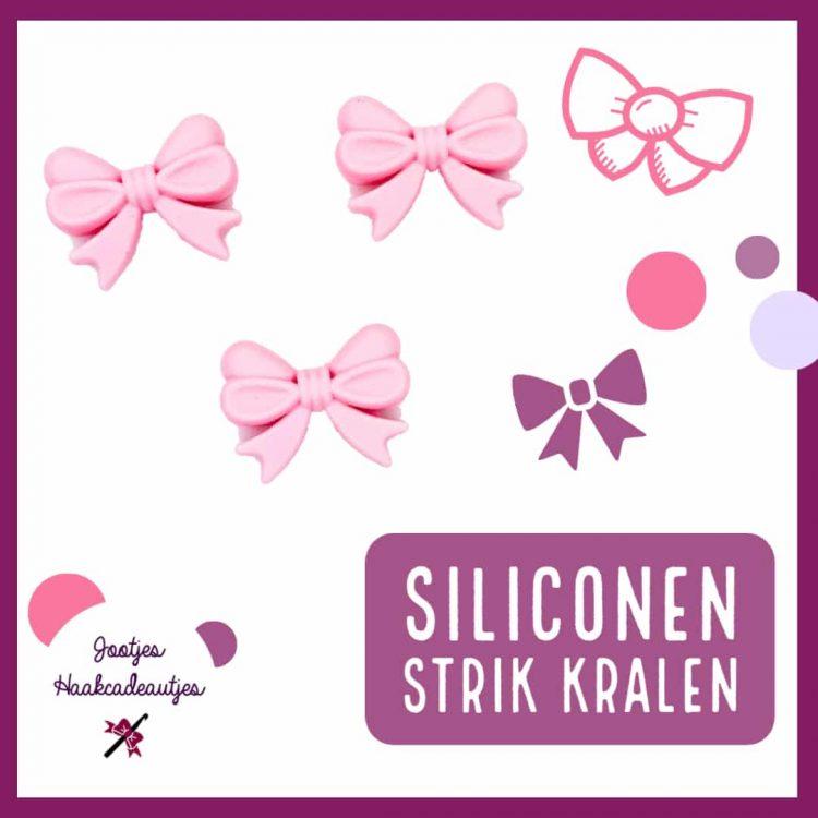 Siliconen kralen - Strik