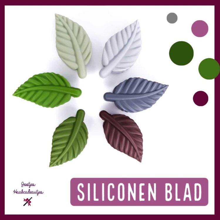 Siliconen kralen - Blad