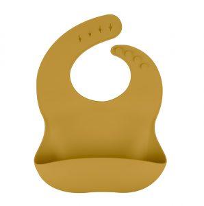 Siliconen slab bpa vrij groothandel slabben baby veilig oker geel
