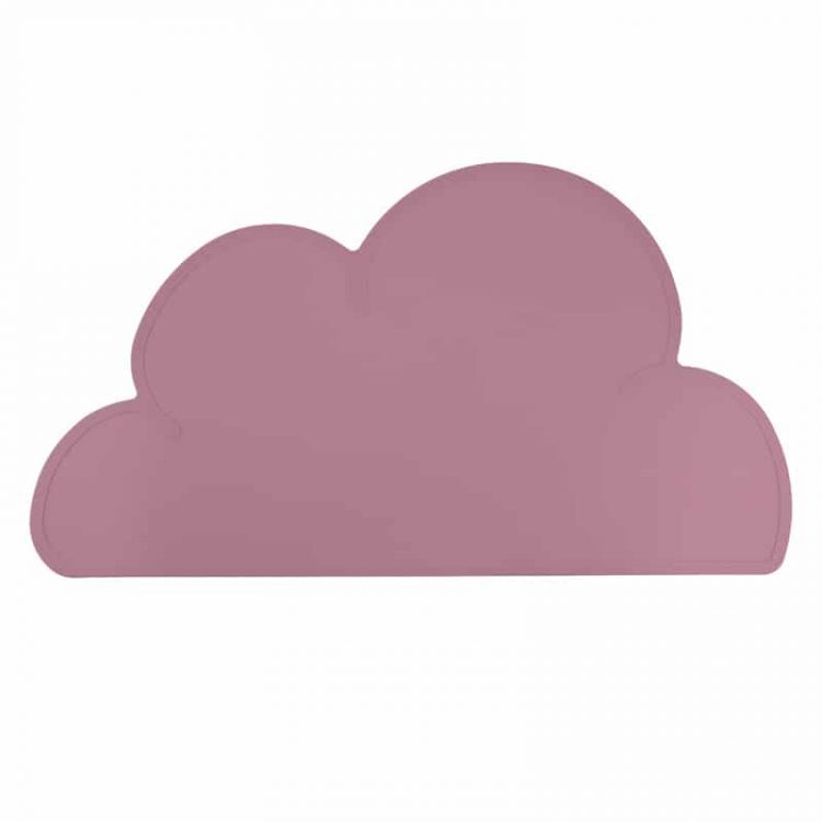 Siliconen placemat baby peuter bpa vrij baby veilig framboos roze