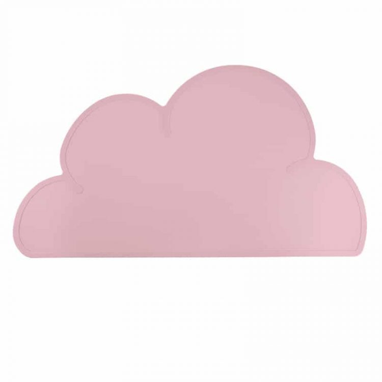 Siliconen placemat baby peuter bpa vrij baby veilig perzik roze