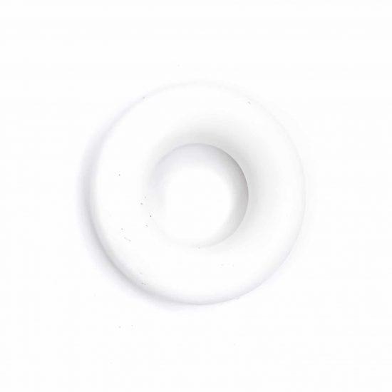 Siliconen ring bijtring bijtfiguur bpa vrij groothandel wit