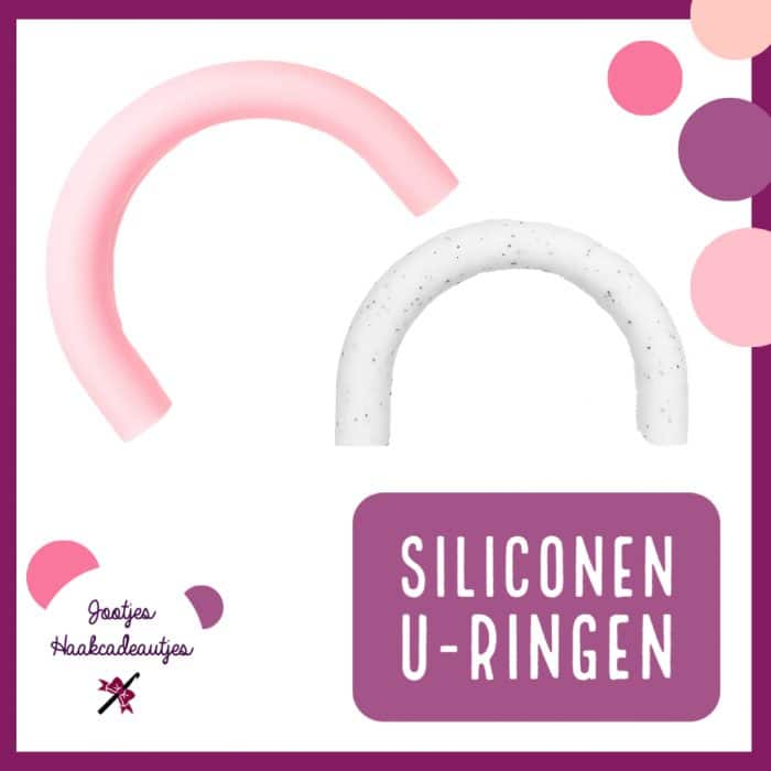 Siliconen U-ringen - 80 mm
