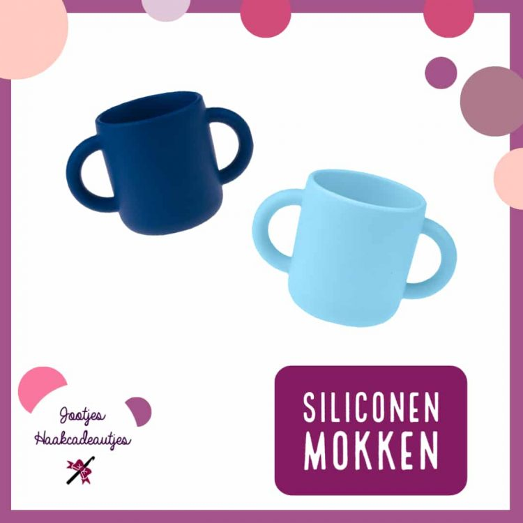 Siliconen mokken - Kinderservies