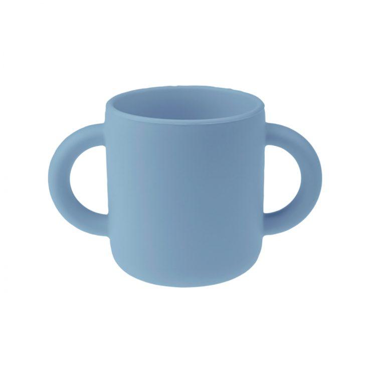 Siliconen mok - Poeder Blauw - BPA vrij kinderservies
