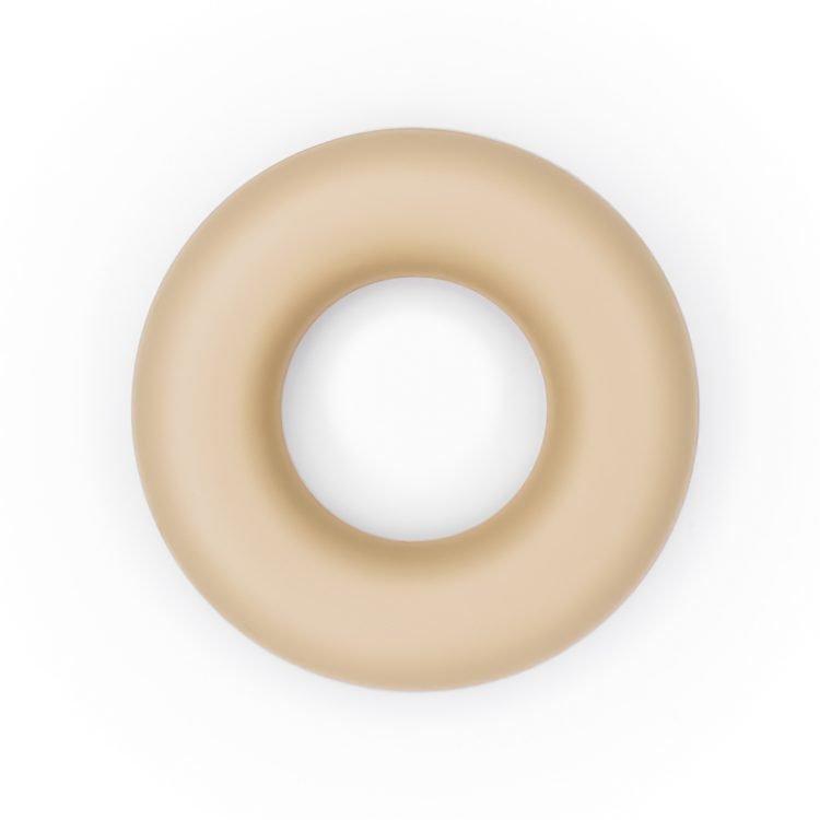 Siliconen ring bijtspeelgoed 43 mm bpa vrij groothandel zand
