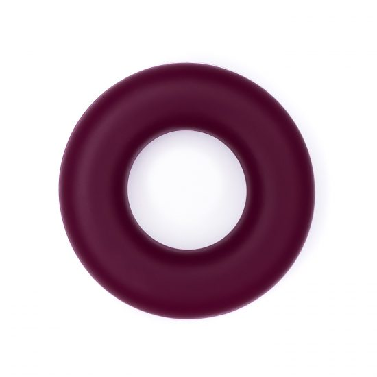 Siliconen ring bijtspeelgoed 43 mm bpa vrij groothandel berry