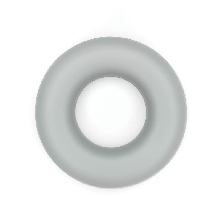 Siliconen ring bijtspeelgoed 43 mm bpa vrij groothandel beton