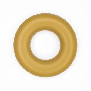 Siliconen ring bijtspeelgoed 43 mm bpa vrij groothandel curry
