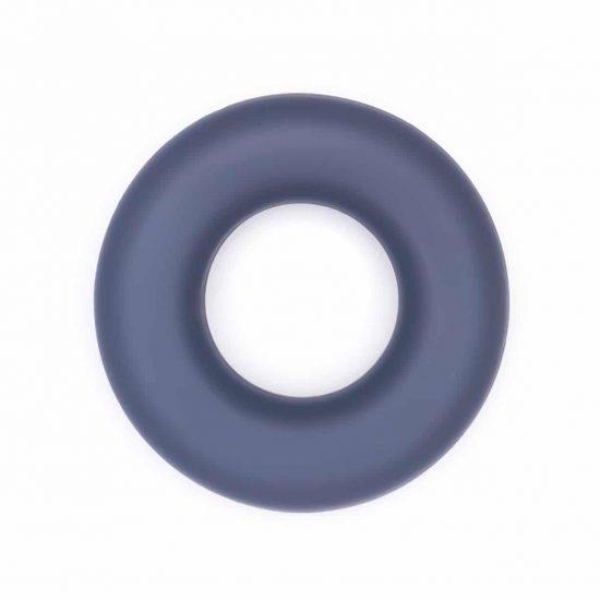 Siliconen ring groothandel bijtring bpa vrij donker grijs