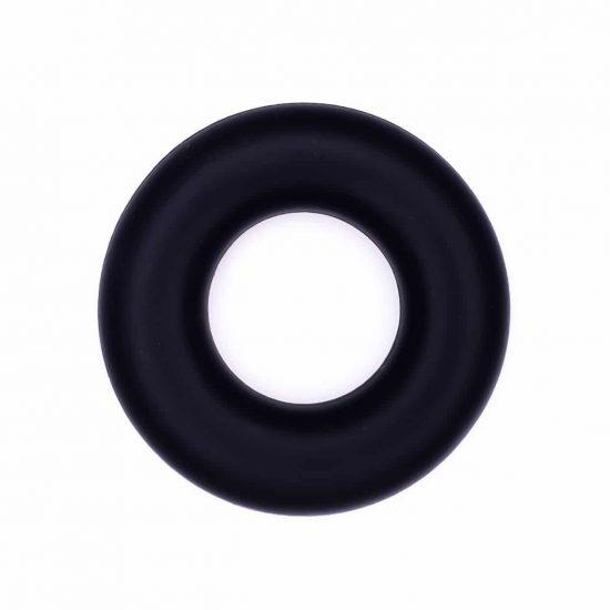 Siliconen ring groothandel bijtring bpa vrij zwart
