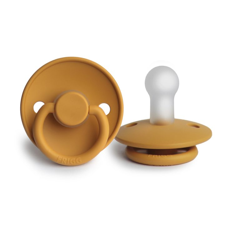 Frigg fopspeen siliconen classic honey gold groothandel