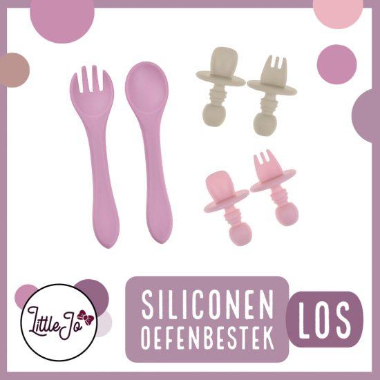 Siliconen Bestek - Los - Kinderservies