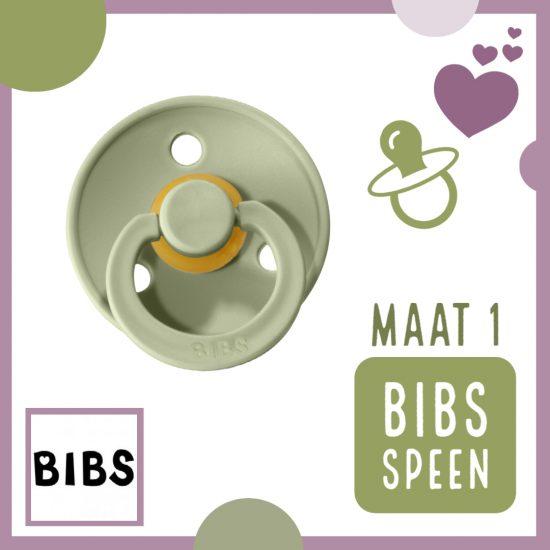 BIBS Fopspeen – Speen Maat 1 – Baby veilig