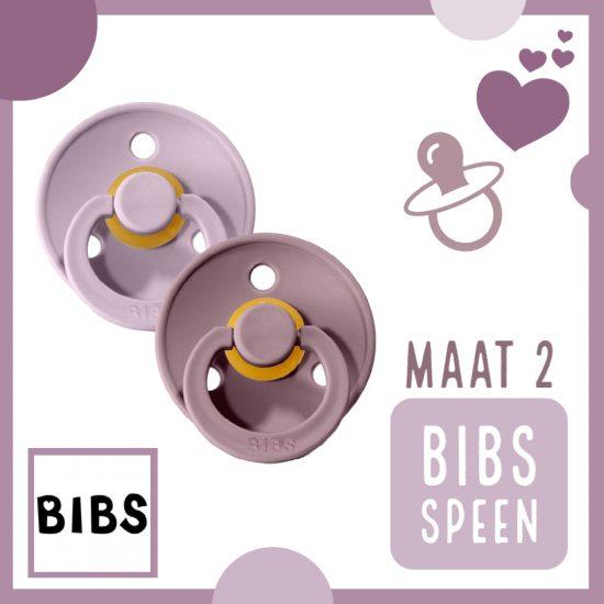 BIBS Fopspeen - Speen Maat 2 - Baby veilig