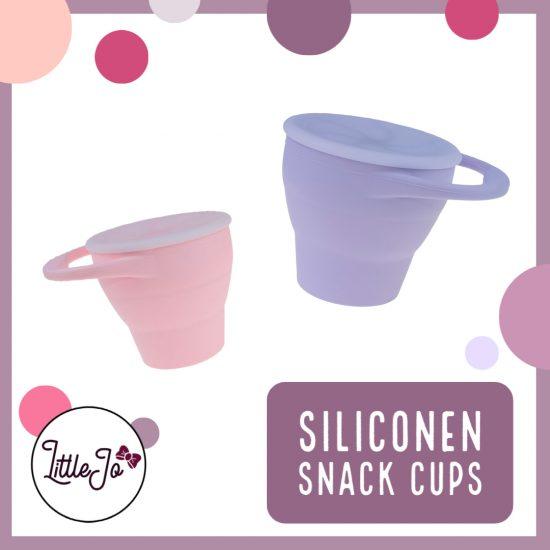Siliconen Snack Cups - LittleJo