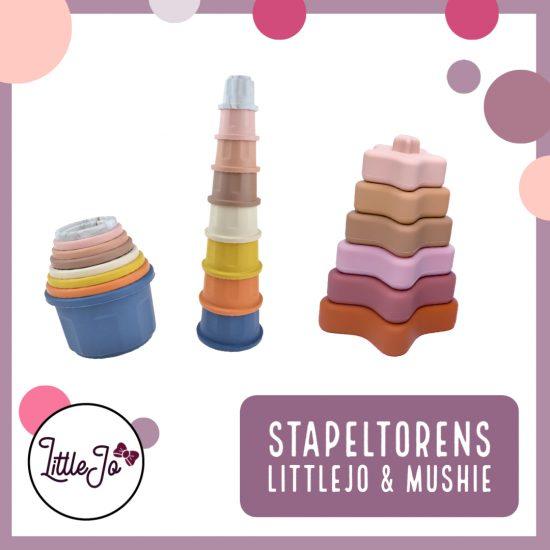 Stapeltoren - Stacking Cups - LittleJo & Mushie