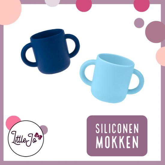 Siliconen drinkbeker - Mok - LittleJo - Kinderservies